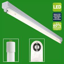 2ft LED COMPATIBLE Individual Tubo Ajuste Instalación - con 9w Blanco frío