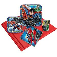 DC COMICS JUSTICE LEAGUE PARTY PACK BIRTHDAY PARTY SUPPLIES 57 PIECES