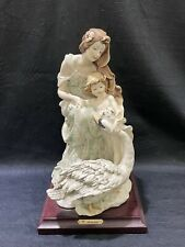 Giuseppe Armani 953-C Maternity with Swan Mother & Child Sculpture Figurine