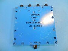 Anaren 40274 .50 to 1.0 GHz, SMA 4-Way Power Divider