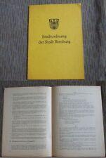 Stadtordnung der Stadt Bernburg, Bernburg 1979