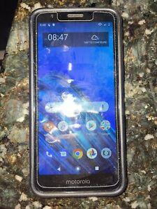 Motorola Moto E6 - 16GB - Starry Black - TRACFONE - Clean IMEI