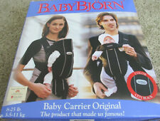 Baby Bjorn, Baby, Infant, Carrier Original, 8 - 25 Pounds, Black, Original Box