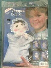 "McNeill Baby Bonnie 14"" Puppet Doll Kit #6115 Vtg 1984 Nos"