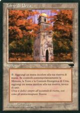 Magic Mtg Italian Foreign Black Border Renaissance Urza's Tower   Forest
