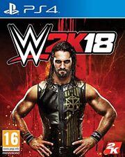PS4 -- WWE 2K18 -- NUOVO