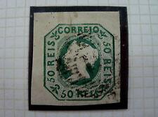 Portugal Rare Stamp - 1853 Queen Maria II, 50 Reis