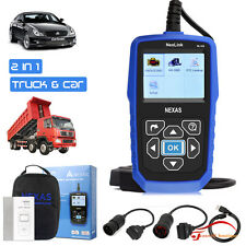 Professional obd2 auto heavy duty truck scanner diesel engine diagnostic tools