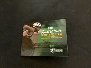 Royal Australian Mint paralympic team coloured $2 coin 2016