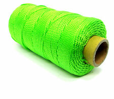 Bricklayers Quality 152 Meters x 1.8mm Fluorescent  Green Brick Line BL019