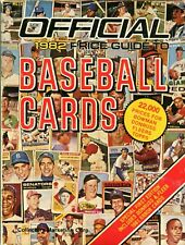 Official 1982 Price Guide To Baseball Cards 1st Edition 238 Pages - Crazy Prices