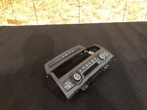 BMW E70 X5 (07-13) AC CLIMATE CONTROL SWITCH PANEL WITH BEZEL OEM