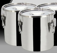 Thick Stainless Steel 14 Gal/50 L Silicon Sealed Barrel Bucket Food storage +lid