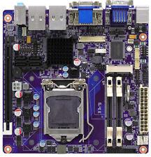 Intel Cougar Point DVI VGA PCI-E x16 Mini PCI-E LAN LGA1155 Mini ITX Motherboard