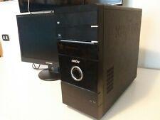 """COMPUTER PC FISSO DESKTOP + MONITOR 22"""" SAMSUNG USATO OTTIMO"""