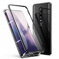 OnePlus 7 Pro Case, ZHIKE Magnetic Adsorption Upgraded version-Clear Black
