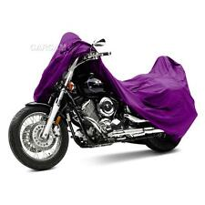 Purple Outdoor Motorcycle Dust Cover For Harley Davidson Fatboy / FXD / VRod XXL