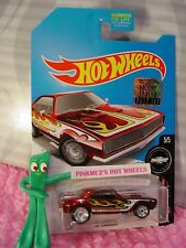 '67 CAMARO∞2017 Hot Wheels SUPER TREASURE HUNT∞RED Chevy;RealRiders☆FACTORY SET