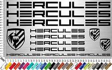 Hercules sticker set | bicicleta marco pegatinas | bike frame sticker | 13 Decals