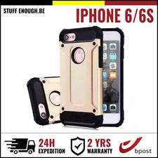 Gold Plated Armor Cover Cas Coque Etui Silicone Hoesje Case Or For iPhone 6 6S