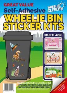 Home or Wheelie Bin Self Adhesive Sticker Kit - SQUIRREL Design