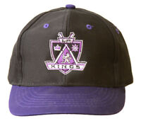 Los Angeles Kings NHL Youth Size Snapback Hat - Black/Purple