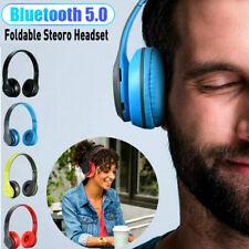 Wireless Bluetooth Foldable Headphone Over Ear Stereo Headset Noise Cancel W/Mic