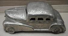 Vintage Brass white polish Vintage Car With Wheels 6 Compartment Betel Nut Box