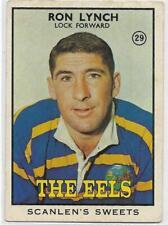 1968 B Nrl Rugby League Scanlens (29) Ron LYNCH Eels ::