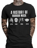 The History of Horrormask Herren Fun T-Shirt | Halloween | Purge | Funny Horror