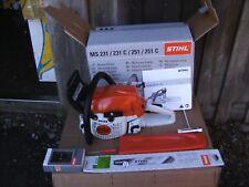Stihl Motorsäge MS 231 NEU mit Zubehör