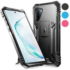 Galaxy Note 10 / Note 10 Plus Case,Poetic Hybrid TPU Bumper Clear Back Cover