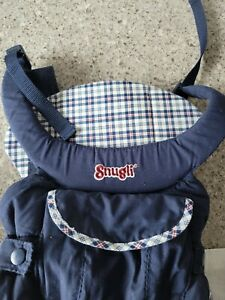 SNUGLI  Evenflo Baby Padded Backpack Carrier- Classic/Vintage Blue 2001