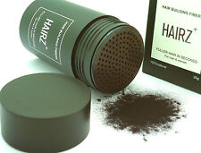 HAIRZ Hair Building Fibers Instant Thicker Fuller Hair Loss and Balding Solution