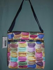 Le SportSac Cleo Small Crossbody Handbag in Macaroons NWT