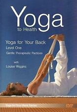 Yoga to Health : Yoga for Your Back - Level One - DVD - Louise Wiggins