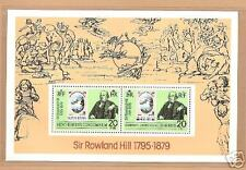 NEW HEBRIDES # 266-a Souvenir Sheet ROWLAND HILL