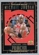 1995/96 UD Predictor player of the month MICHAEL JORDAN