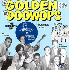 GOLDEN ERA OF DOOWOPS, APOLLO RECORDS PART 2 (CD, RELIC)BRAND NEW FACTORY SEALED