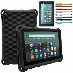 For Amazon Kindle Fire 7 HD 10 2021 11th Gen Tablet Case Kids Shockproof Cover