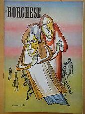 1954-IL BORGHESE-Direttore LEO LONGANESI-Anno V, Numero 42