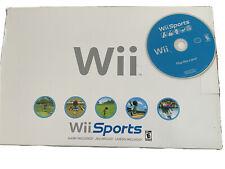 Nintendo Wii Video Game Console (RVL-001) GameCube compatible w/box