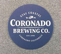 CORONADO BREWING CO STAY COASTAL COASTER 1 Coaster