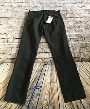 Men's NWT Black Lucky Brand Size 30 221 Original Straight Cotton Jeans