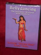 New The Sensuous Belly dancing  DVD Instructional Workout with Shamira