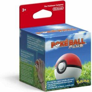 Pokeball Plus - Pokemon Nintendo switch, OPEN BOX.