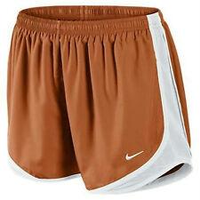 NWT Girls Nike Tempo Dri-Fit Shorts Orange Texas L