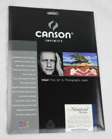 "New Canson Infinity Montval Torchon 280gsm 8.5""x11"" Paper - 10 Sheets"