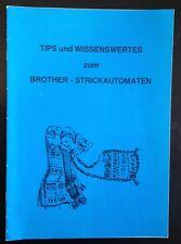Tips und Wissenswertes für Brother Strickmaschine mit Lochkarten