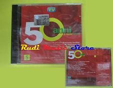 CD 50 ANNI DI CANZONI ITALIANE 5  compilation PROMO 2000 DE GREGORI GIORGIA (C8)